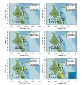 Behavioral Responses of Satellite Tracked Blainville's Beaked Whales to Mid-frequency Active Sonar