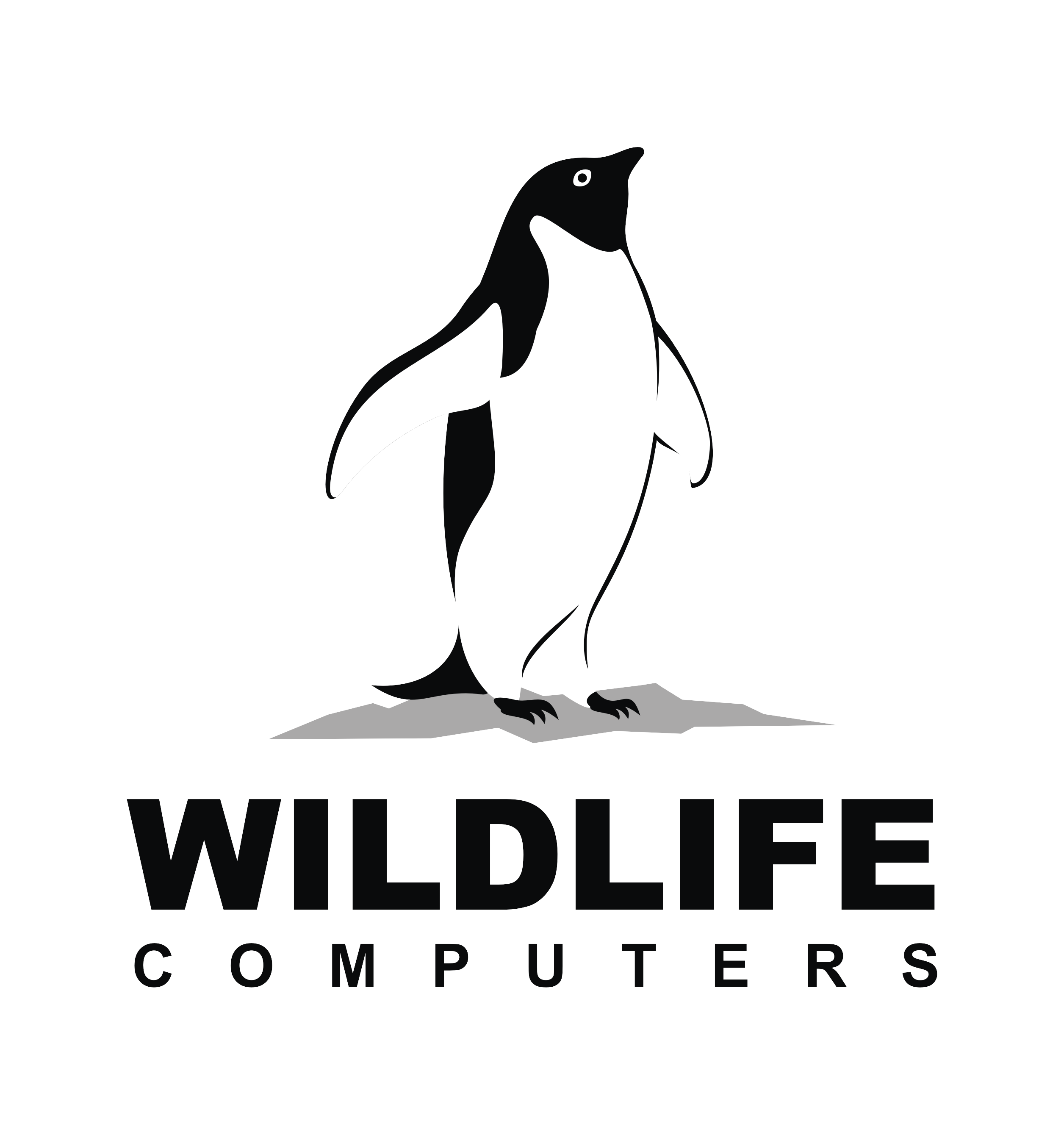 Wildlife Computers - White Black Transparent